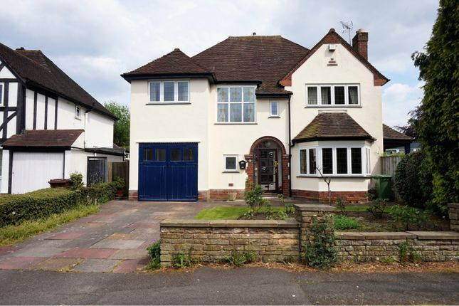 Thumbnail Detached house for sale in Coalway Avenue, Wolverhampton