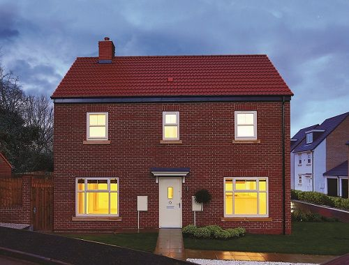 Thumbnail Detached house for sale in The Sorrento, Off Prince Charles Avenue, Mackworth, Derbyshire