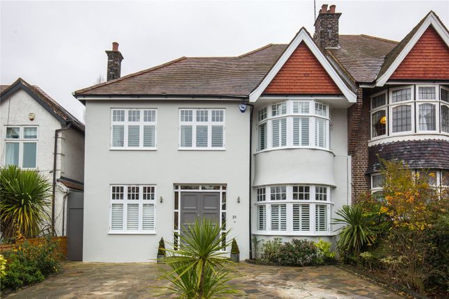 Thumbnail Semi-detached house for sale in Church Vale, East Finchley, London
