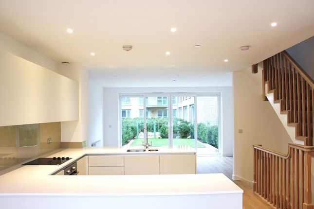 Thumbnail Town house to rent in Ottley Drive, Astell Road, London