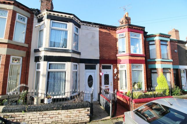 Front View of Mounsey Road, Tranmere, Birkenhead, Merseyside CH42