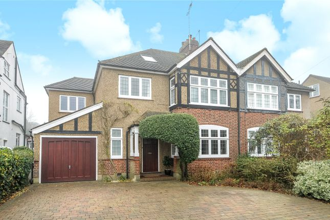 Thumbnail Semi-detached house for sale in Hillview Road, Pinner, Middlesex