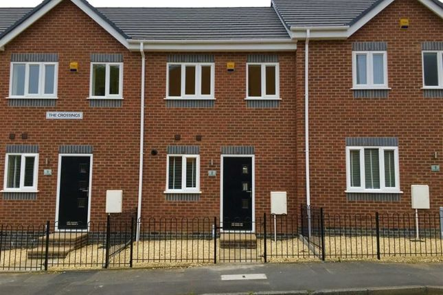 Thumbnail Terraced house to rent in The Crossings, Cannock, Staffordshire