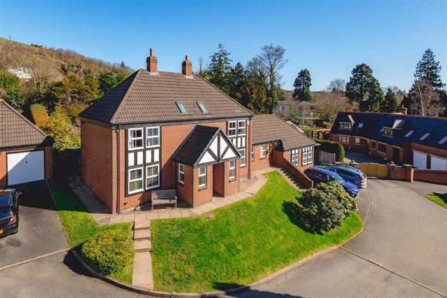Thumbnail Detached house for sale in 4, Dolerw Park Drive, Milford Road, Newtown, Powys