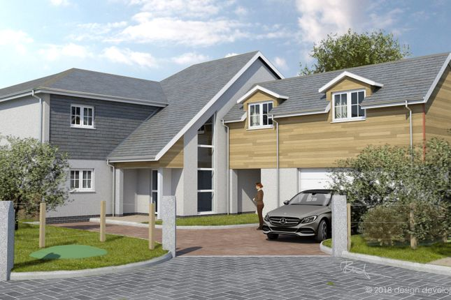 Thumbnail Detached house for sale in The Paddock, Hemerdon, Plymouth