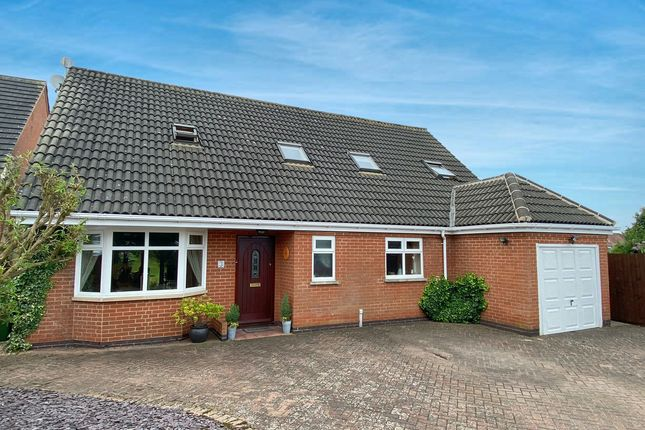 Thumbnail Detached bungalow for sale in The Cuttings, Thurnby, 9