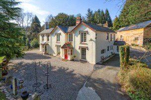 Thumbnail Detached house for sale in Llanfair Caereinion, Powys