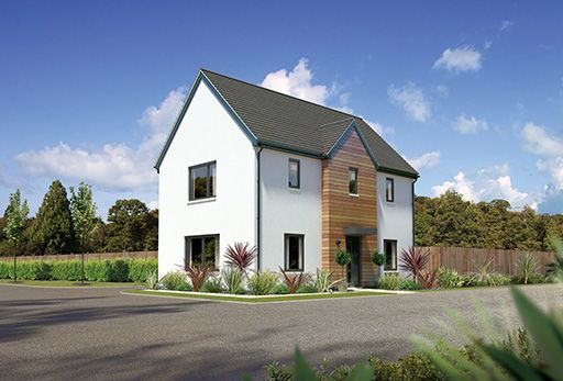 "Thumbnail Detached house for sale in ""Corrywood"" at Whitehills Gardens, Cove, Aberdeen"