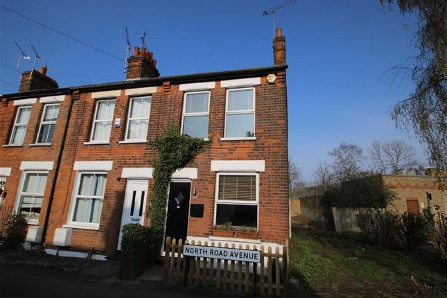 Thumbnail End terrace house for sale in North Road Avenue, Brentwood