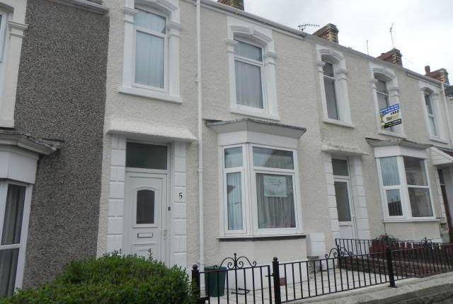 External of Penbryn Terrace, Brynmill, Swansea SA2