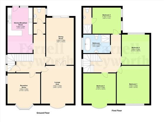 Floor Plan of Clifton Drive, Lytham St. Annes FY8