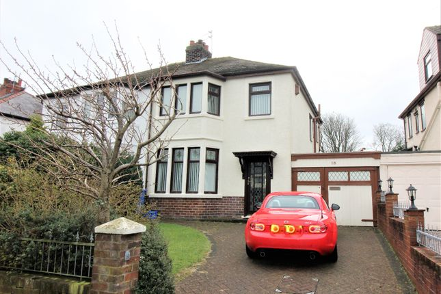 Thumbnail Semi-detached house to rent in Tarn Road, Thornton-Cleveleys