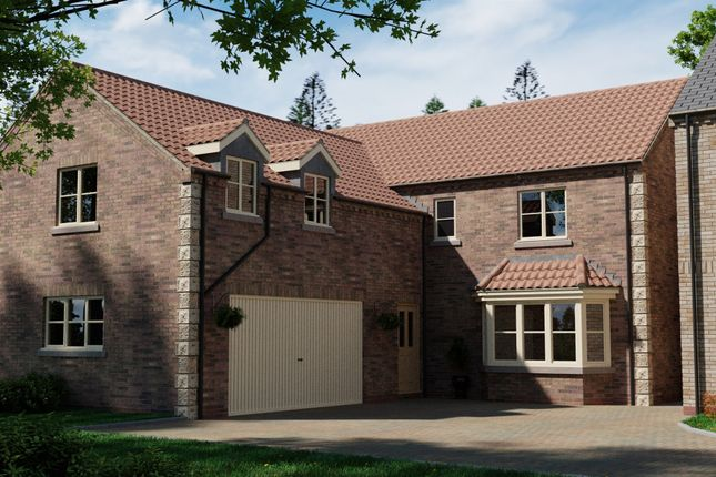 Thumbnail Detached house for sale in Plot 1, Thorne Lane, Scothern, Lincoln