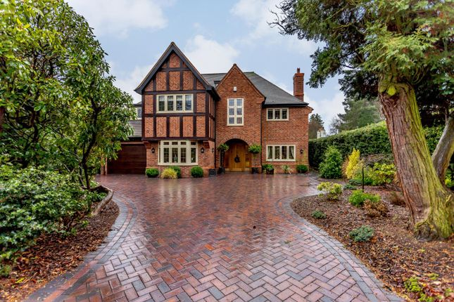 Thumbnail Detached house for sale in Moor Hall Drive, Four Oaks, Sutton Coldfield