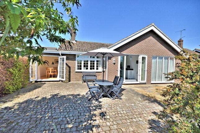 Thumbnail Detached bungalow for sale in Dale End, Brancaster Staithe, King's Lynn
