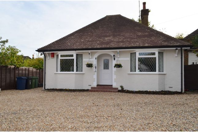 Thumbnail Detached bungalow for sale in Hill Rise, Chalfont St. Peter, Gerrards Cross