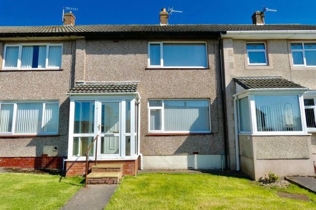 Thumbnail Terraced house for sale in Caldbeck Road, Whitehaven, Cumbria