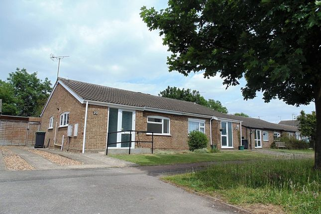 Thumbnail Semi-detached bungalow for sale in Welland Close, Raunds, Wellingborough