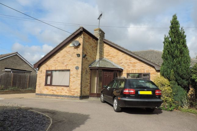 Thumbnail Detached bungalow to rent in High Street, Thurlby, Bourne, Lincolnshire