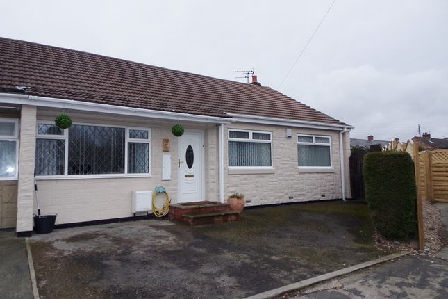 Thumbnail Bungalow for sale in Knox Close, Bedlington
