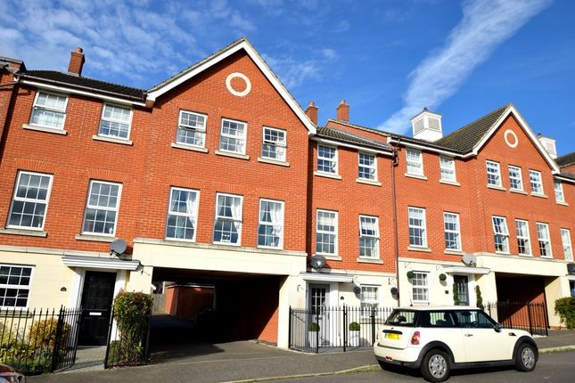 Thumbnail Town house for sale in Chapelwent Road, Haverhill