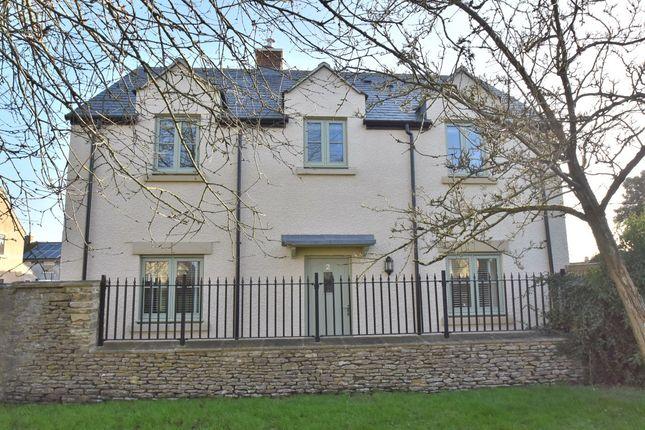 Thumbnail Detached house for sale in Camden Gardens, Marshfield, Chippenham