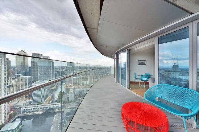 Balcony of 25 Crossharbour Plaza, London E14