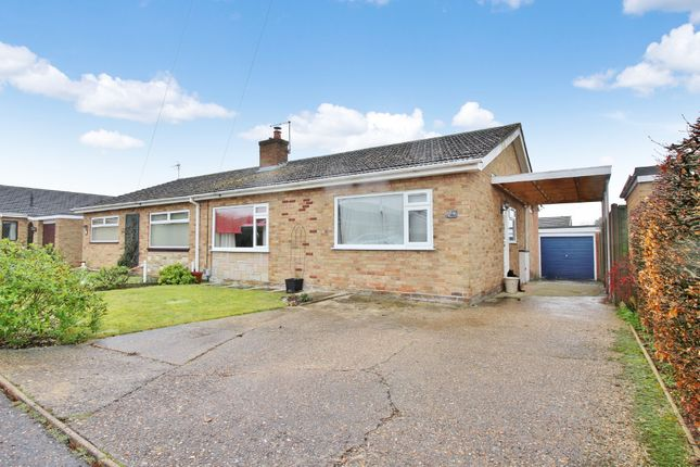 Thumbnail Semi-detached bungalow for sale in Peregrine Close, Sprowston, Norwich