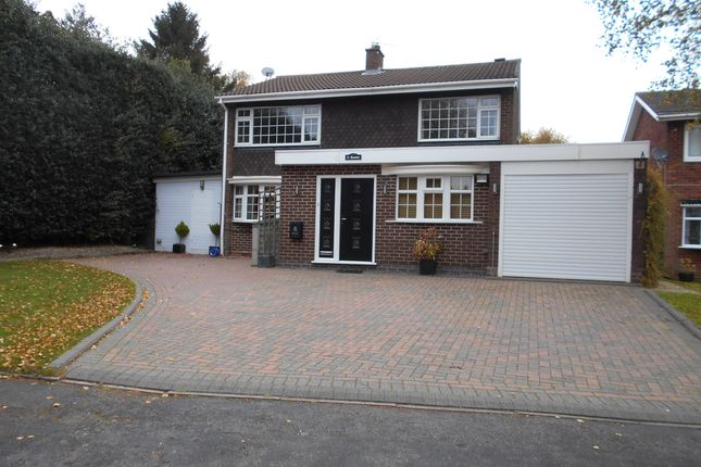 Thumbnail Detached house to rent in Leandor Drive, Streetly
