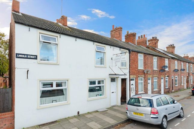 Thumbnail End terrace house for sale in Lincoln Street, Newark