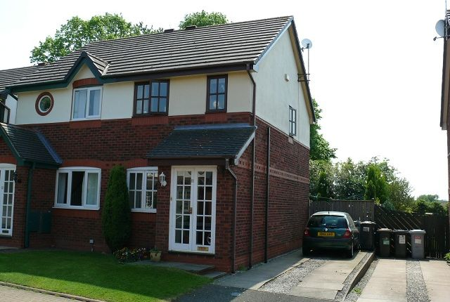 Thumbnail Semi-detached house to rent in Minster Court, Wistaston, Crewe, Cheshire