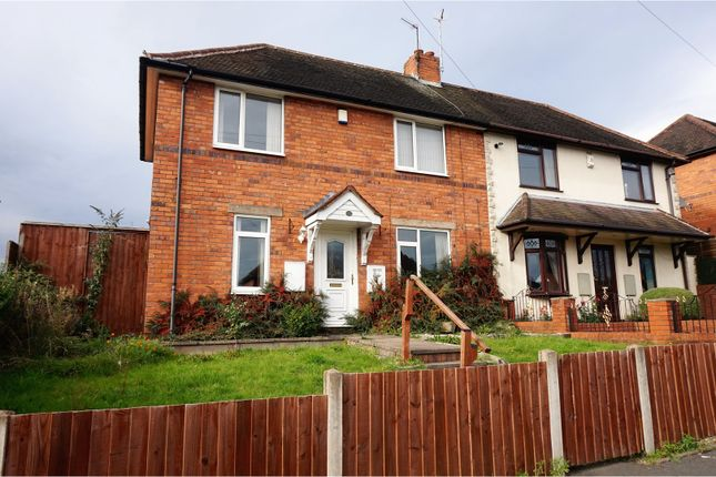 2 bed semi-detached house for sale in Wood Road, Dudley