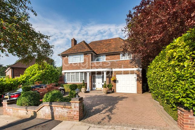 Thumbnail Detached house for sale in Manor Hall Drive, London