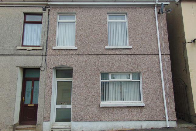 Thumbnail 3 bed semi-detached house to rent in St. Teilo Street, Pontarddulais, Swansea