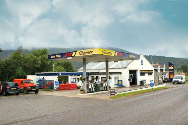 Thumbnail Commercial property for sale in Braemar Service Station, Braemar, Braemar, Aberdeenshire