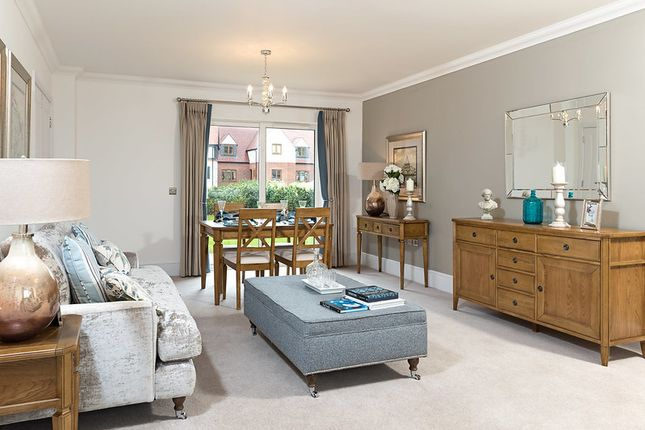 Thumbnail Flat for sale in 9 Millway Lodge, Alcester, Warwickshire