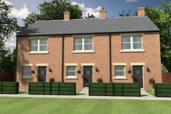 Thumbnail Terraced house for sale in Throckley, Newcastle Upon Tyne