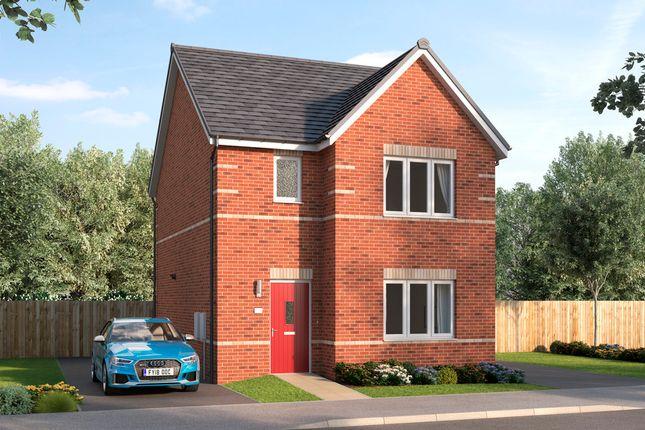 Thumbnail Detached house for sale in Lancaster Court, Auckley, Doncaster