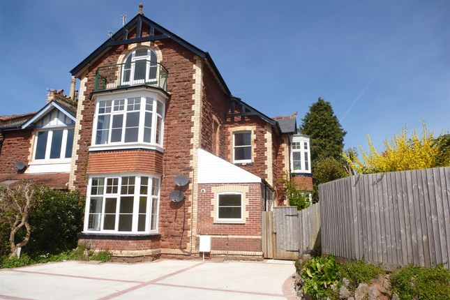 Thumbnail Town house for sale in Dartmouth Road, Paignton