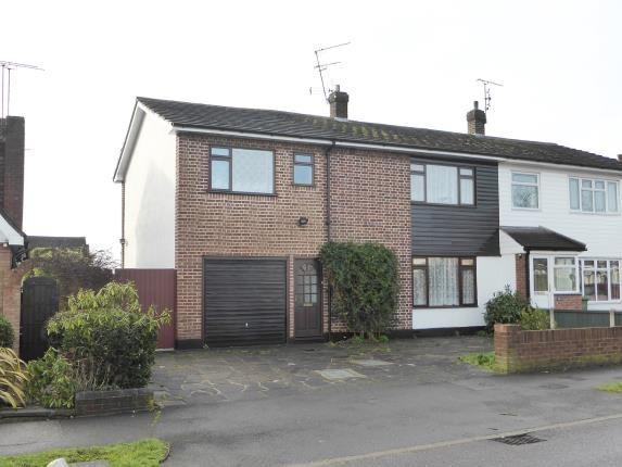 Thumbnail Semi-detached house for sale in Scrub Lane, Hadleigh, Benfleet
