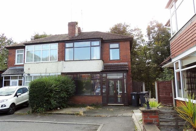 Thumbnail Semi-detached house for sale in Woodlands, Failsworth, Manchester