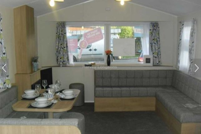 Thumbnail Mobile/park home for sale in White Cross, Newquay
