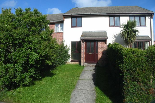 Thumbnail Terraced house to rent in Berkeley Close, Stratton, Bude