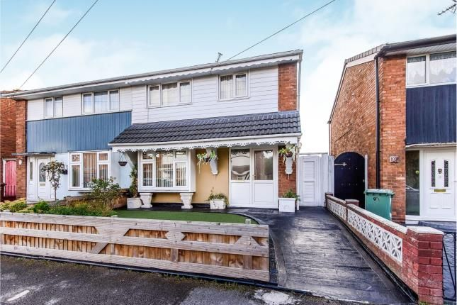 Thumbnail Semi-detached house for sale in Hucker Close, Walsall
