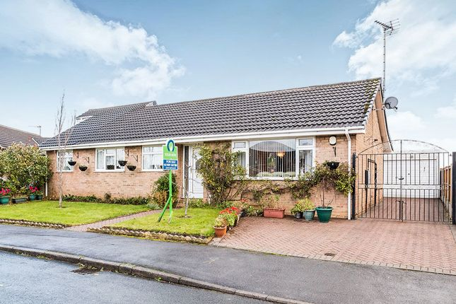 Thumbnail Bungalow for sale in Hawkshead Crescent, North Anston, Sheffield