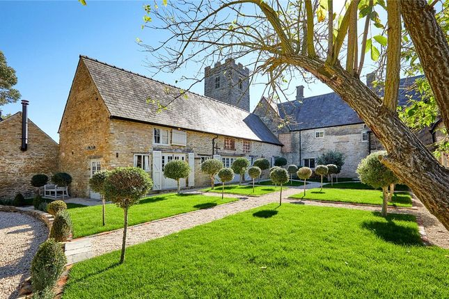 Thumbnail Detached house for sale in Main Road, Farthinghoe, Brackley, Northamptonshire