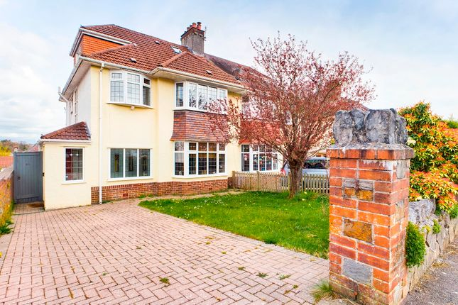 4 bed semi-detached house for sale in Cherry Grove, Derwen Fawr, Swansea SA2
