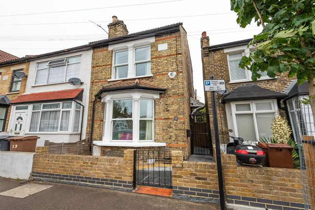 Thumbnail End terrace house for sale in Barclay Road, London