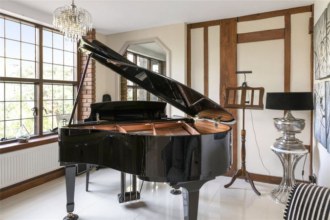 Music Room of The Warren, Kingswood, Tadworth, Surrey KT20