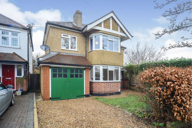 4 bed detached house for sale in Hollies Avenue, West Byfleet KT14